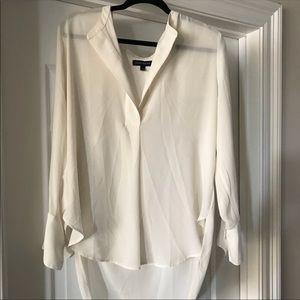 Banana Republic Light Cream Shirt - Large